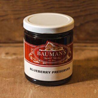 Blueberry Preserves Jam at Bauman