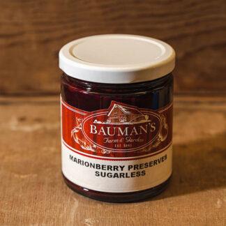 Marionberry Preserves Sugarless at Bauman