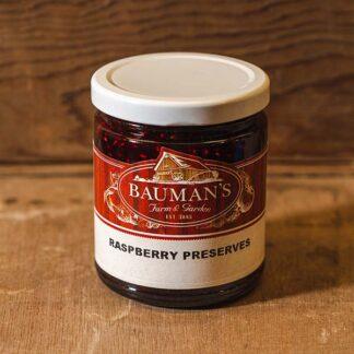 Raspberry Preserves Jam at Bauman