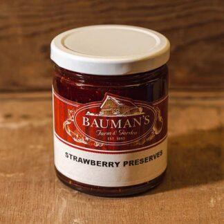 Strawberry Preserves Jam at Bauman