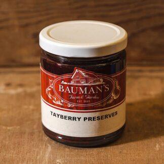 Tayberry Preserves Jam at Bauman