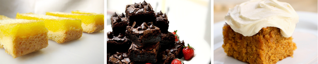 Baked Dessert Bar or Brownie