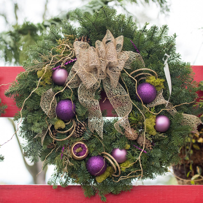 Wreath Decorating Class