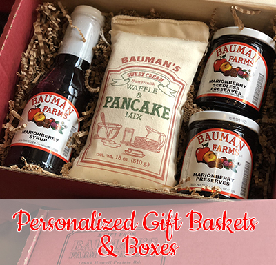 Personalized Gift Baskets & Boxes