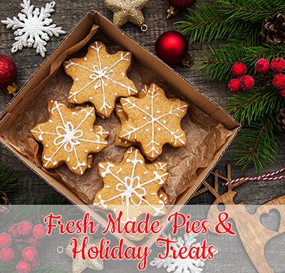 Fresh Made Pies & Holiday Treats