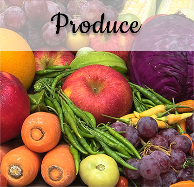 Local Produce - Fruits & Vegetables