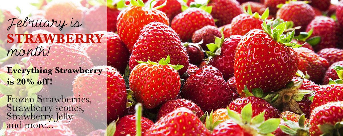 Strawberry Month