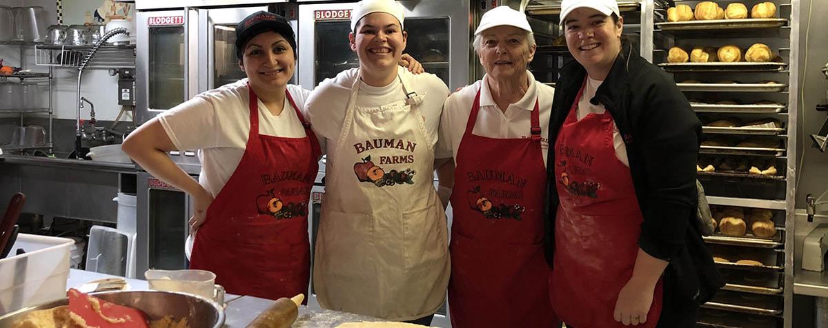 About Us - Bakery - Bauman Farms