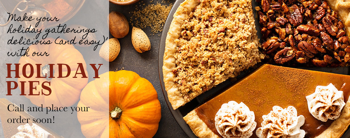 Holiday Pies Reminder