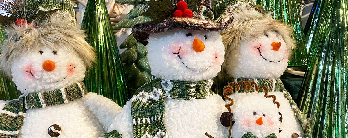 Snowman Holiday Gifts
