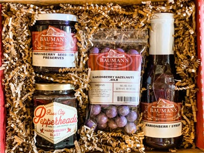 Bauman Marionberry Lovers Gift Packs
