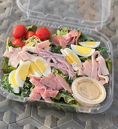Deli Salad - Eggs, Meat & Tomatoes