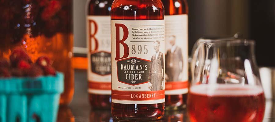 Loganberry Bauman Cider